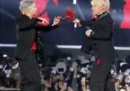 [포토] RM-뷔 '이것이 진정한 꽃놀이패'