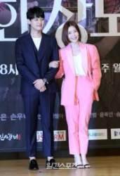 [포토] 박진우-신다은 '어울리는 커플'