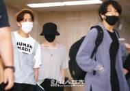 '방탄소년단' 진,슈가,RM 개성살린 공항패션