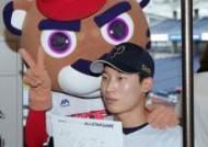 [포토]김호령, 제 친필 사인입니다