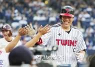 [포토]김현수, 올스타전 첫 홈런 미소 만개