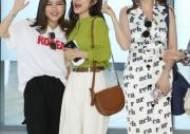 [포토] 송가인-홍자 '리허설은 공항에서'