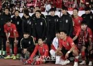 [포토]축구대표팀, 스리랑카전 대승 후 팬들과 포즈