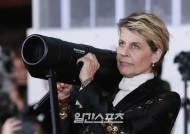[포토]린다 해밀턴, 영화 속 한장면 처럼