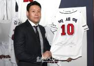 [포토]박세혁, '듬직하네'
