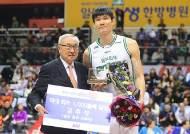 김주성, 프로농구 역사상 최초 1000개 블록 슛 달성