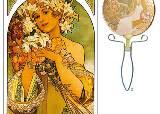 순정만화 꽃 배경의 원조는 '아르누보의 대가' 무하