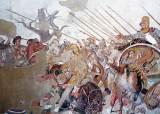 알렉산더의 3대 승부수, 사선대형·쐐기대형·예비대