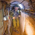 하마스 땅굴 접수한 이스라엘