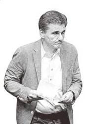 [인물로 본 '금주의 경제'] 그리스 구원투수 나선 유클리드 차칼로토스 재무장관
