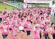 16년째 유방 건강 알리는 분홍색 물결