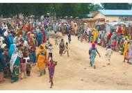 구호의 손길 기다리는 나이지리아 난민들
