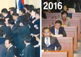 탄핵 찬성 늘어가는 비박 … 2004년 민주당의 모습 데자뷔