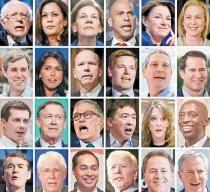 [사진] 미국 민주당 대선후보 24명