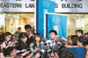 [사진] 풀려난 홍콩 시위 아이콘