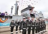 [사진] 현대중공업이 만든 뉴질랜드 최대 군함