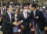 """주호영 """"여당에 협조할 건 과감히 협조…김종인 곧 만날 것"""""""