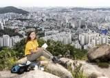"""""""김밥 빼고 물감·팔레트…"""" 산 100곳서 붓질하는 여자"""