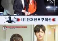 '명단공개' 안재현-구혜선 부부, 사랑꾼 스타 명단 1위…'천사 커플' 별명도 얻어