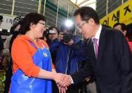 자유한국당 홍준표 대선후보, 인천 유세 펼쳐