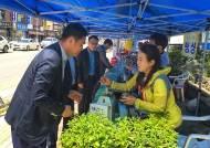 평택시·농협 평택지부, 안전한 먹을거리 위한 '농특산물 직거래 장터' 열어