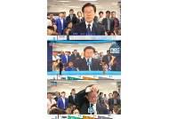 """경기도지사 이재명, """"잘 안들린다"""" 인터뷰 일방적으로 중단…형수 욕설 논란·여배우 스캔들 의식?"""
