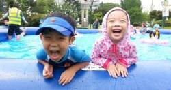 수원시, 올림픽공원(7일)·행궁광장(13일) 무료 물놀이장 개장