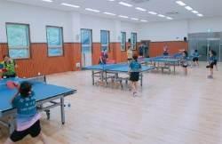 후배들 '멘토' 자처한 수원시청 여자탁구팀
