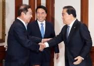 """문희상 """"한반도 평화정착을 위한 중국 역할 기대"""""""