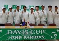 남자 테니스, 뉴질랜드와 데이비스컵 1그룹 잔류 놓고 맞대결