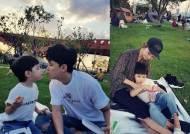 """최현준♥신소이, 아들과 한강 나들이 """"즐거움이 잊혀지지 않아"""""""