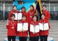 화성시청, 경찰청장기 사격 女50m 소총3자세 단체 우승