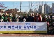 인천 해양수산 11개기관, 이웃사랑 김장김치 10t 전달