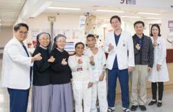 고려대 안산병원, 필리핀 소아환자 초청 무료 수술