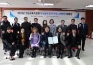 경기수원교육지원청, 안전하고 맛있는 급식 위한 '학교급식 분야 투명사회 협약' 체결