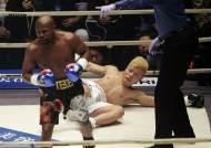 메이웨더, 일본 킥복서 나스카와에게 1라운드 TKO승