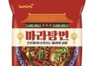 삼양식품, '마라탕면'·'마라볶음면' 2종 출시