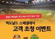 맥도날드, 어린이 축구교실 35만 참가자 돌파 기념 '스페셜 데이' 개최
