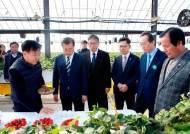 문재인 대통령, 농진청 '고온극복 혁신형 쿨링하우스' 방문