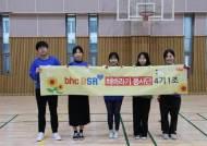 bhc치킨 '해바라기 봉사단', 초등학교 환경정화활동에 구슬땀 흘려