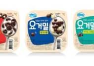 동원F&B, 식사대용 요거트 '덴마크 요거밀' 3종 출시