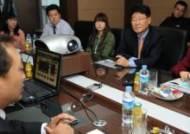 [사진]박근혜, 중소기업 근로자들과의 현장 대화