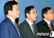 [사진]총선출마 경제부처 전직 고위관료 한나라당 입당