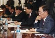 [사진]심각한 표정의 금융지주사 회장들