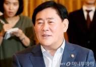 """최경환 """"확장적 재정·통화정책 당분간 유지"""""""