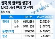 대한민국 신성장동력 항공기 MRO산업, 지금이 '골든타임'