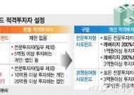 """사모펀드 1억으로 투자가능..업계 """"환영과 아쉬움 교차"""""""