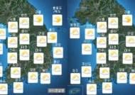 [내일 날씨]전국 흐림…전남해안·제주 한때 비