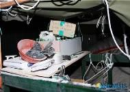 크레인 고공농성자 기습 작전으로 검거한 양산서
