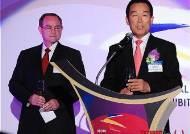 축사하는 김홍경 한국항공우주산업 대표이사
